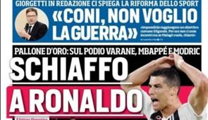 Cristiano Ronaldo Corriere dello Sport