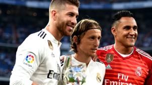 Sergio Ramos Luka Modric Keylor Navas 2018