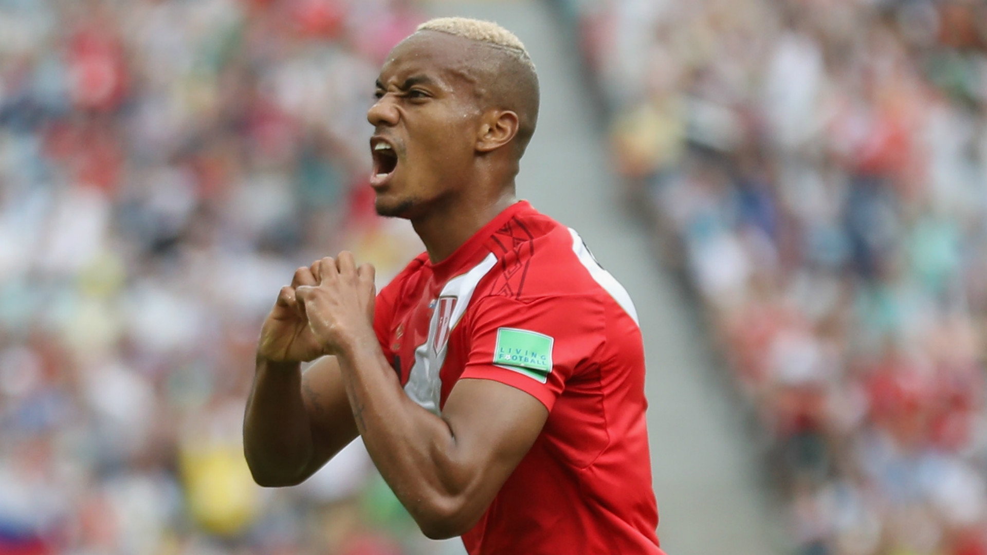 Andre Carrillo Peru 2018 World Cup
