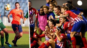 Kayla Adamek Atletico Madrid split