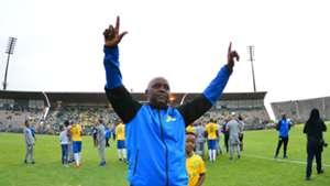 Mamelodi Sundowns coach Pitso Mosimane, April 2018