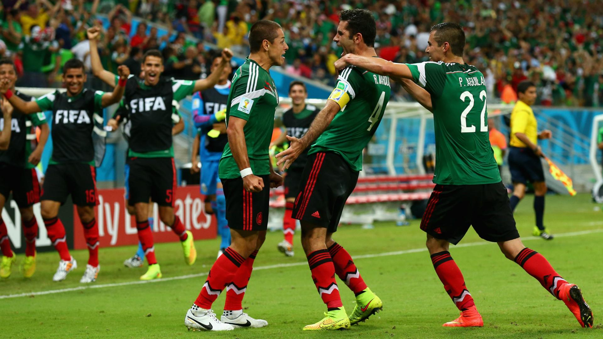 México - Croacia Brasil 2014