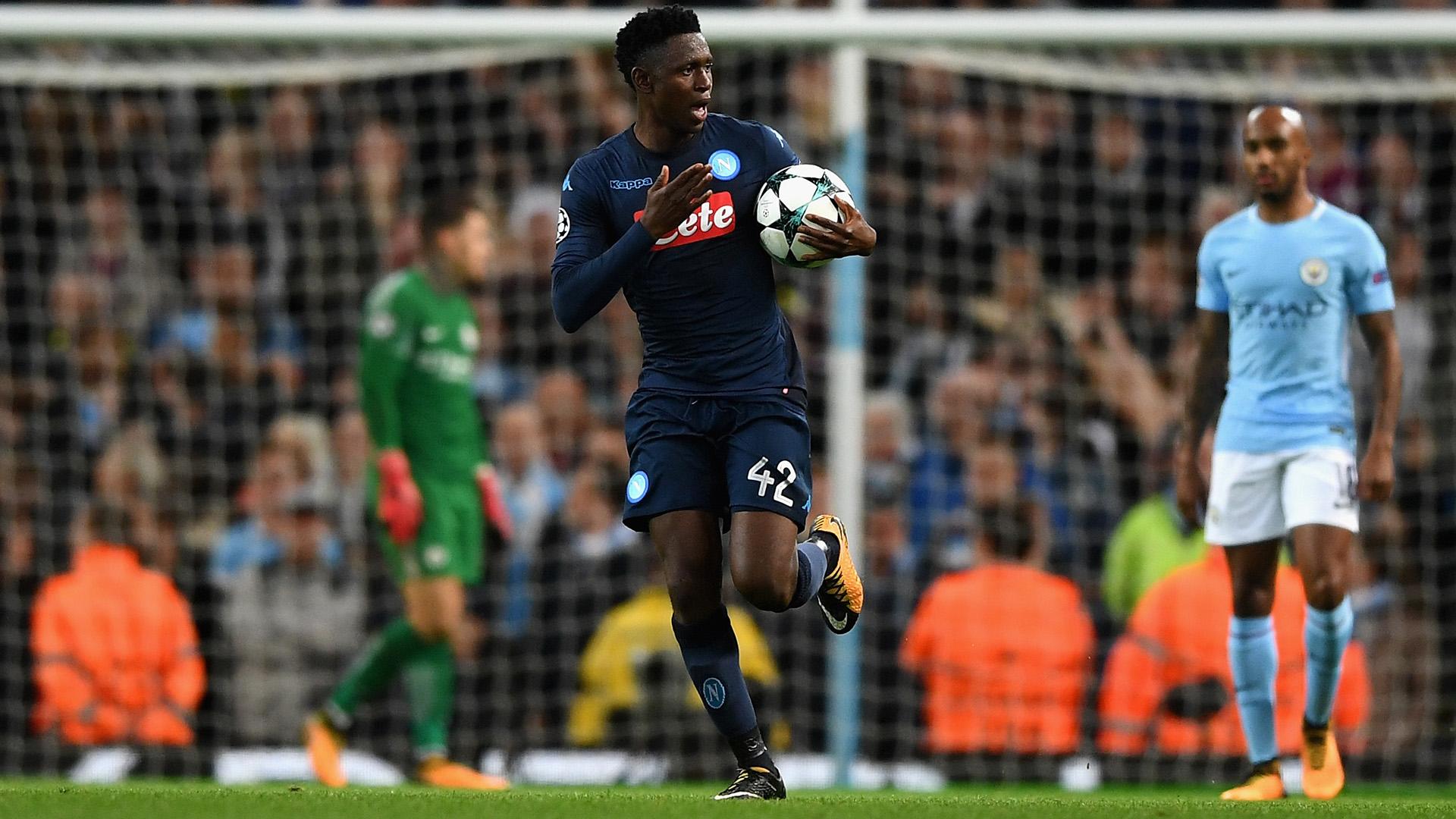 Amadou Diawara Manchester City Napoli Champions League