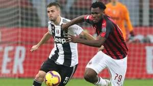 Pjanic Kessie Milan Juventus