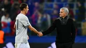 Nemanja Matic Jose Mourinho Manchester United