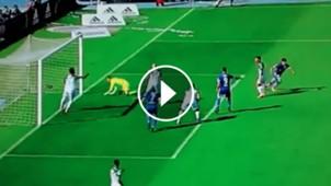 Yerko Leiva gol Universidad Chile Wanderers 220417