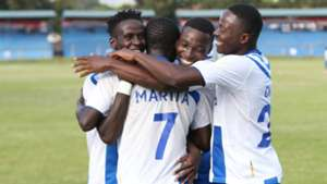 Brian Marita scores for AFC Leopards.