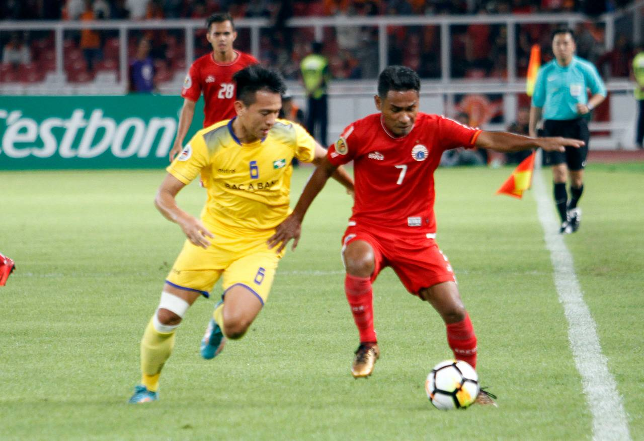 Ramdani Lestaluhu - Persija Jakarta vs Song Lam