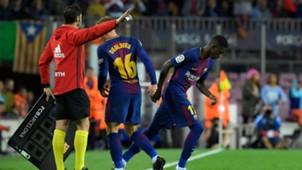 Ousmane Dembele Barcelona Espanyol