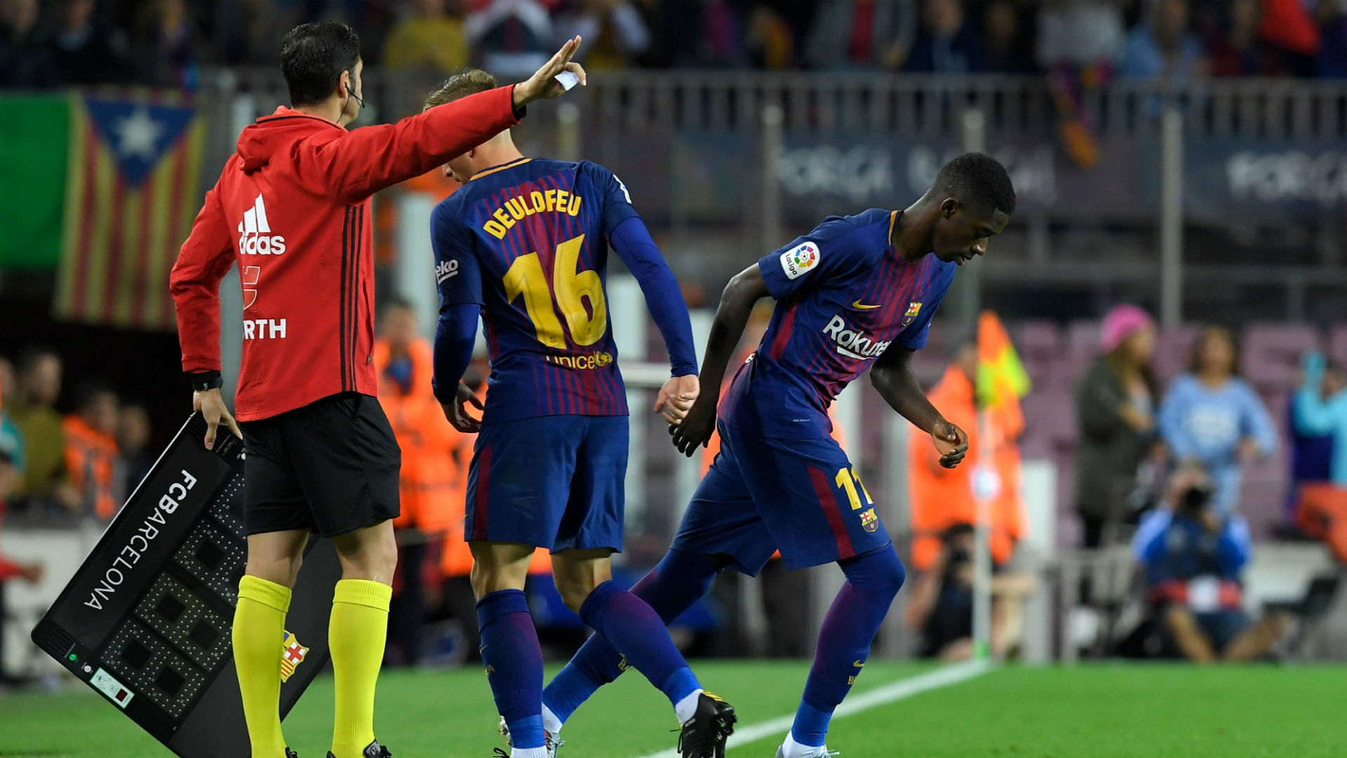 d777b996211 La Liga news: Ousmane Dembele notches assist after making Barcelona debut  as substitute | Sporting News Canada