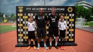 Wolves academy coaches believe Singapore has talent with good technical ability