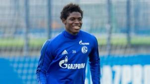 GERMANY ONLY Breel Embolo FC Schalke 04 04072017