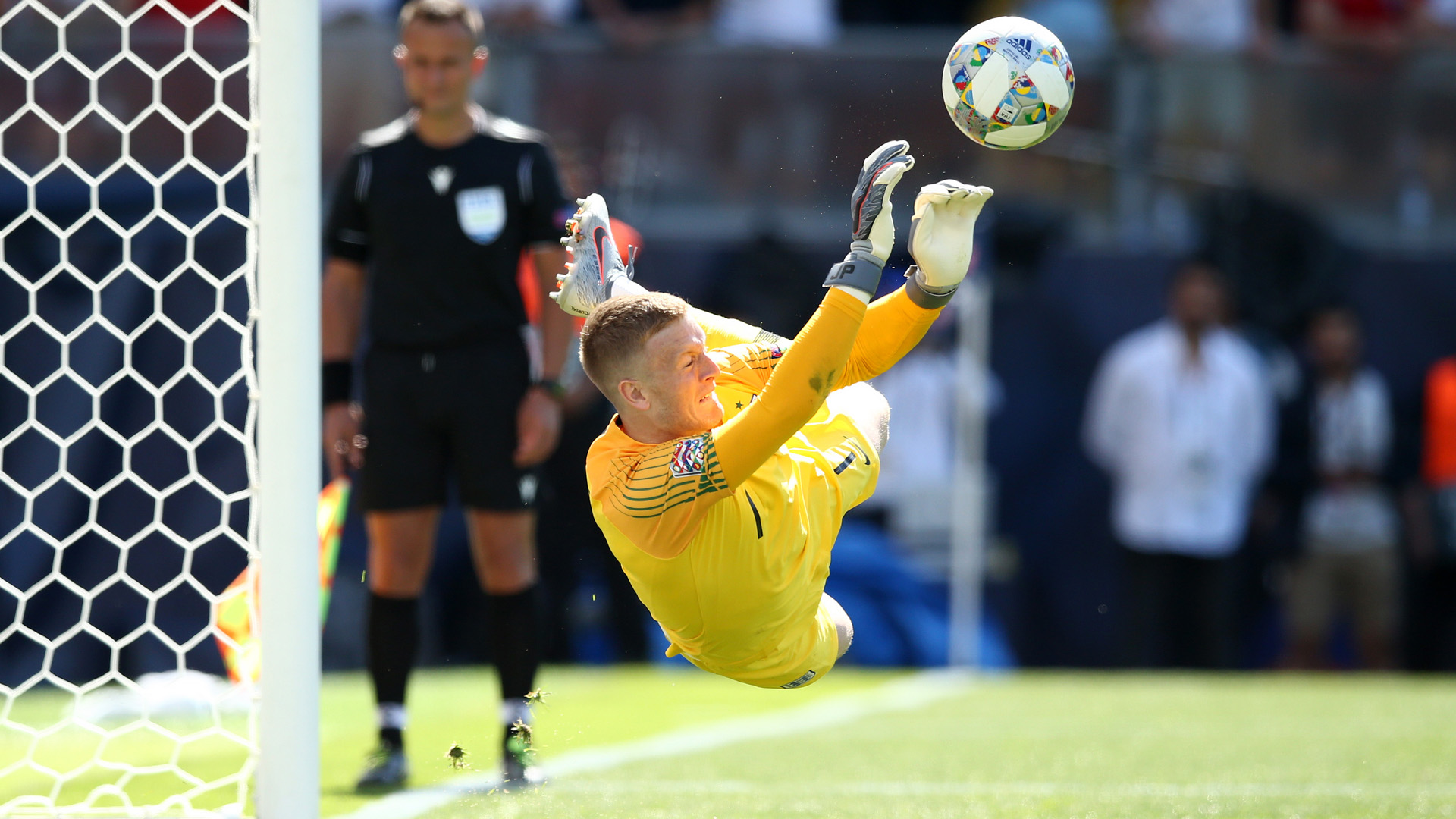 Jordan Pickford England Switzerland 09062019