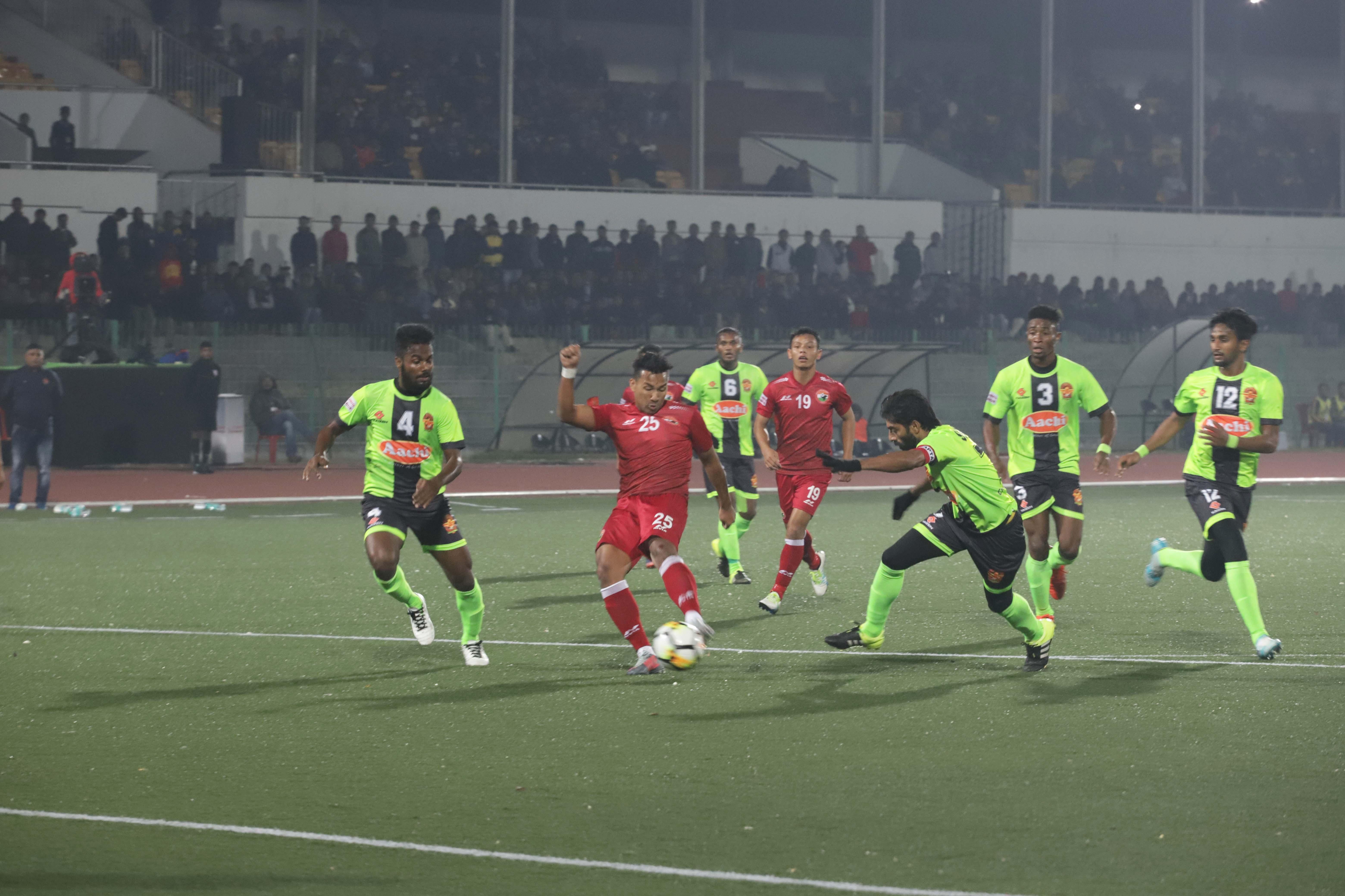 Shillong Lajong Gokulam Kerala I League