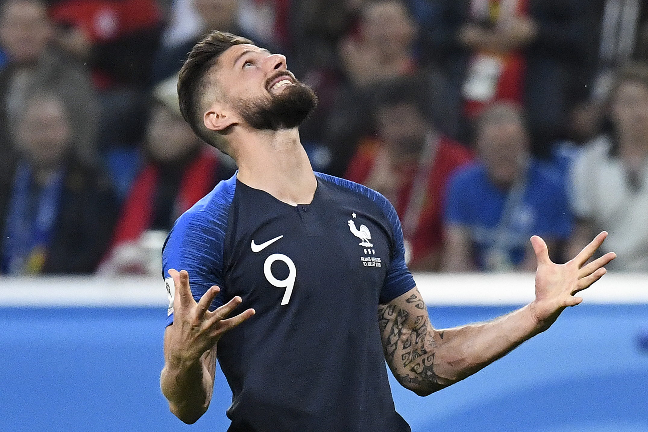 World Cup  Misfiring Olivier Giroud Making Unwanted World Cup History For France Goal Com