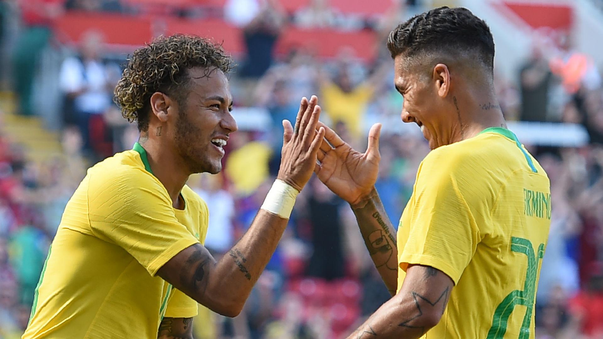 Neymar, Firmino, score as Brazil hand Croatia a commanding victory in a pre-World Cup friendly