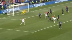Perisic Croacia Francia Gol Captura