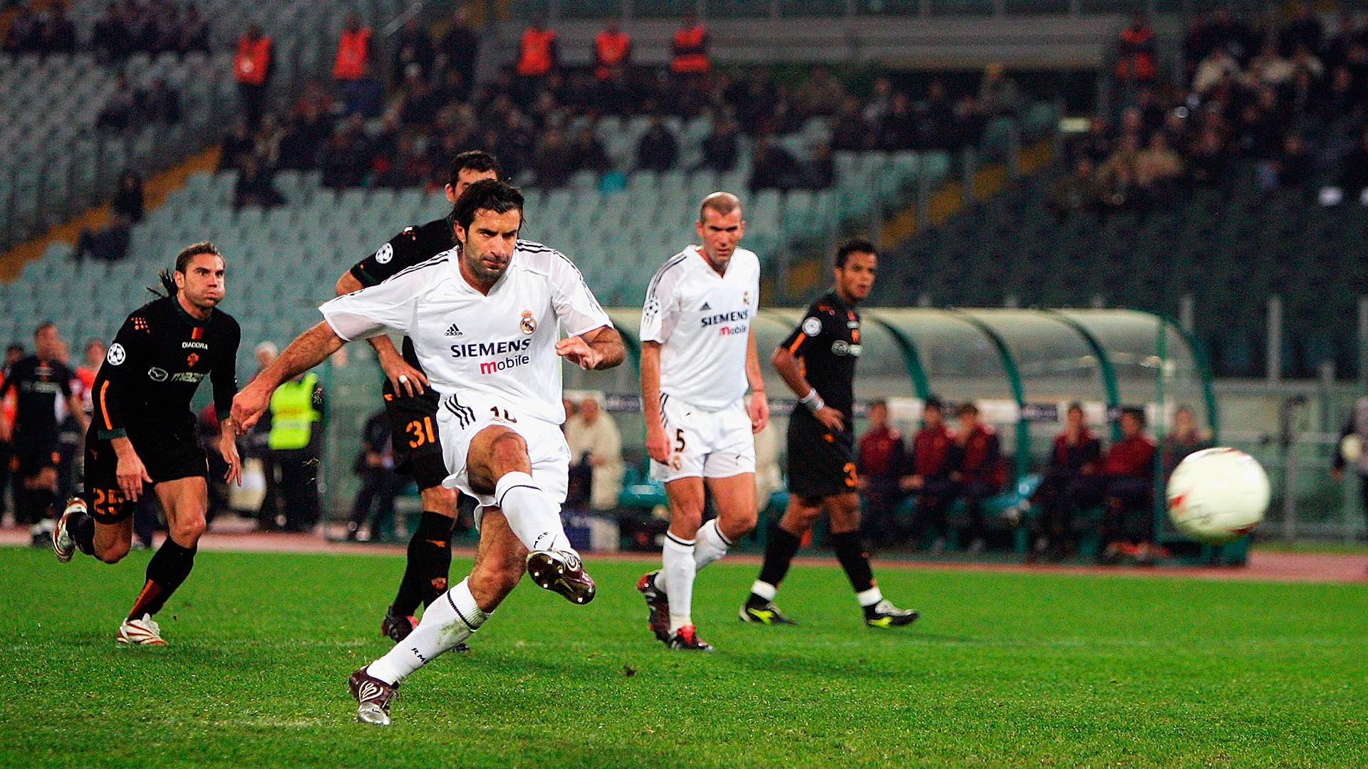 Luis Figo Real Madrid Roma