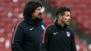 GERMAN BURGOS DIEGO SIMEONE ATLETICO MADRID