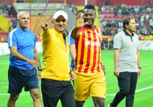 Too Good: Asamoah Gyan - On his sixth league appearance of the season, the Ghana captain netted the all-important goal as Kayserispor pipped Akhisarspor 1-0 in Turkey on Sunday. Significantly, the goal was his first of the Super Lig this season, having...