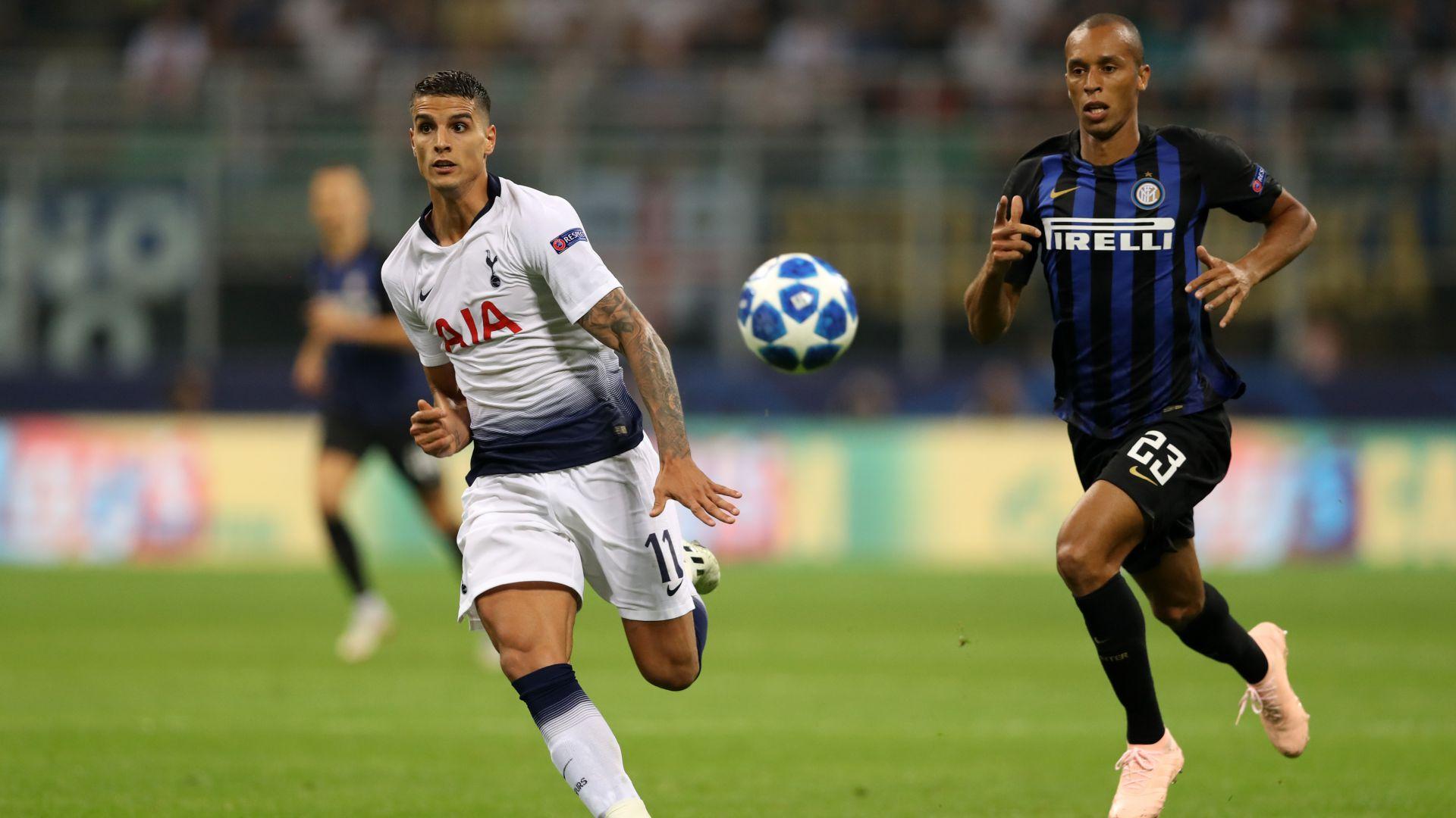 Joao Miranda Erik Lamela Inter Tottenham