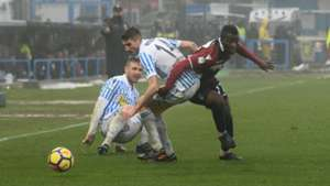 Godfred Donsah: Cercle Brugge loan Ghana midfielder from Bologna