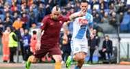 Radja Nainggolan Roma Napoli Serie A