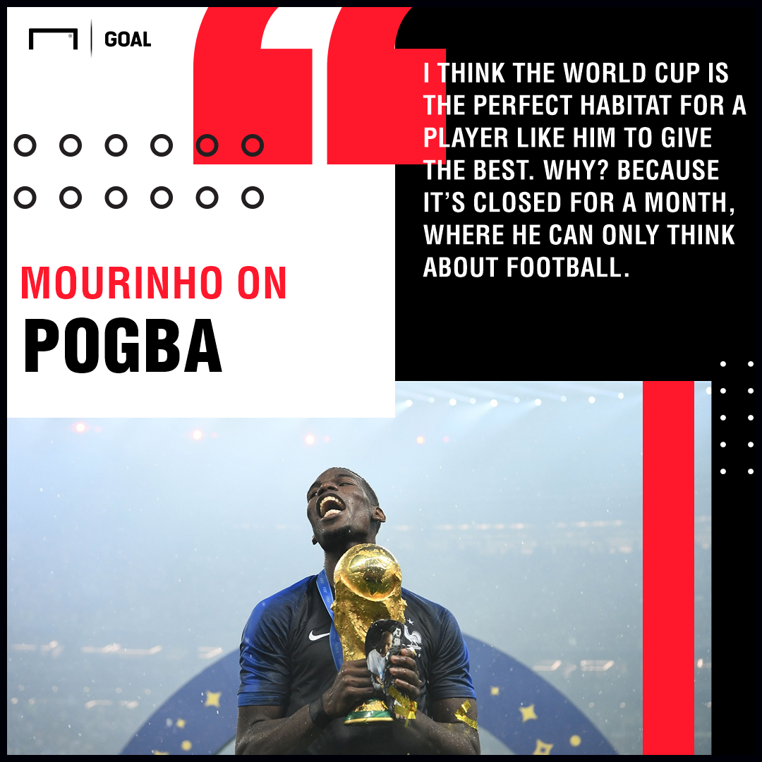 Paul Pogba Jose Mourinho PS