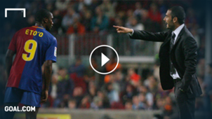 GFX Pep Guardiola Samuel Eto'o