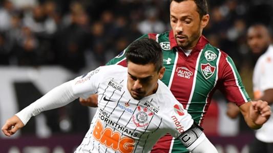 Fagner Nenê Corinthians Fluminense Copa Sul-Americana 22082019