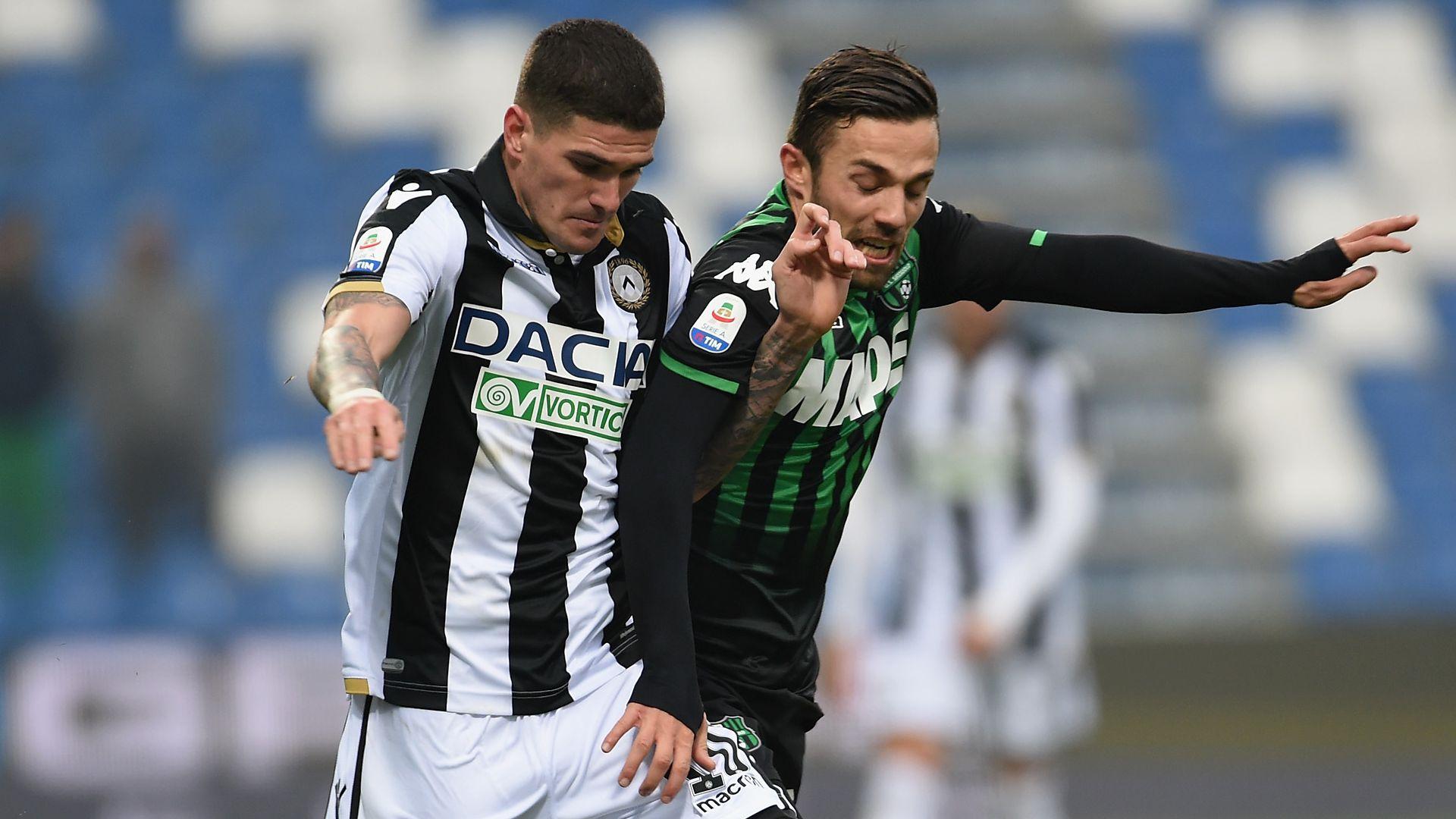 De Paul Di Francesco Sassuolo Udinese