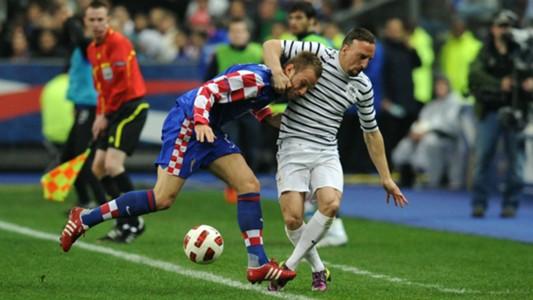 france croatia - ivan rakitic franck ribery - friendly - 2011