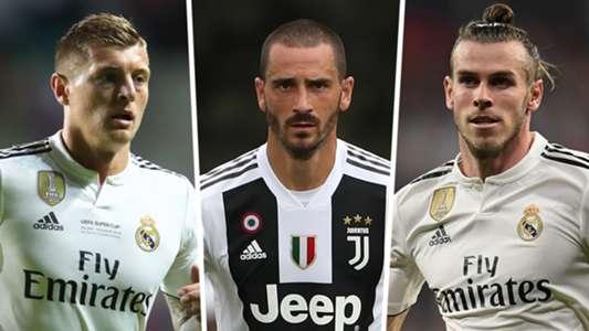 Kroos Bonucci Bale Manchester United