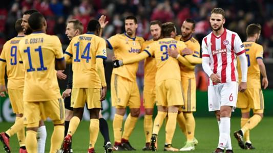 Olympiacos Juventus UCL 05122017