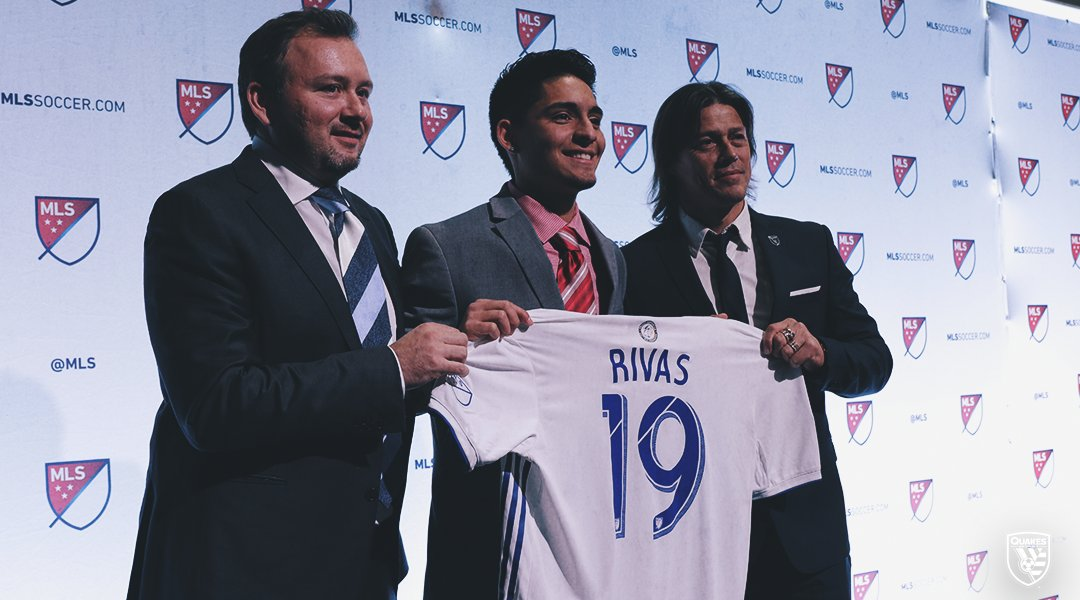Sergio Rivas MLS SJ Earthquakes