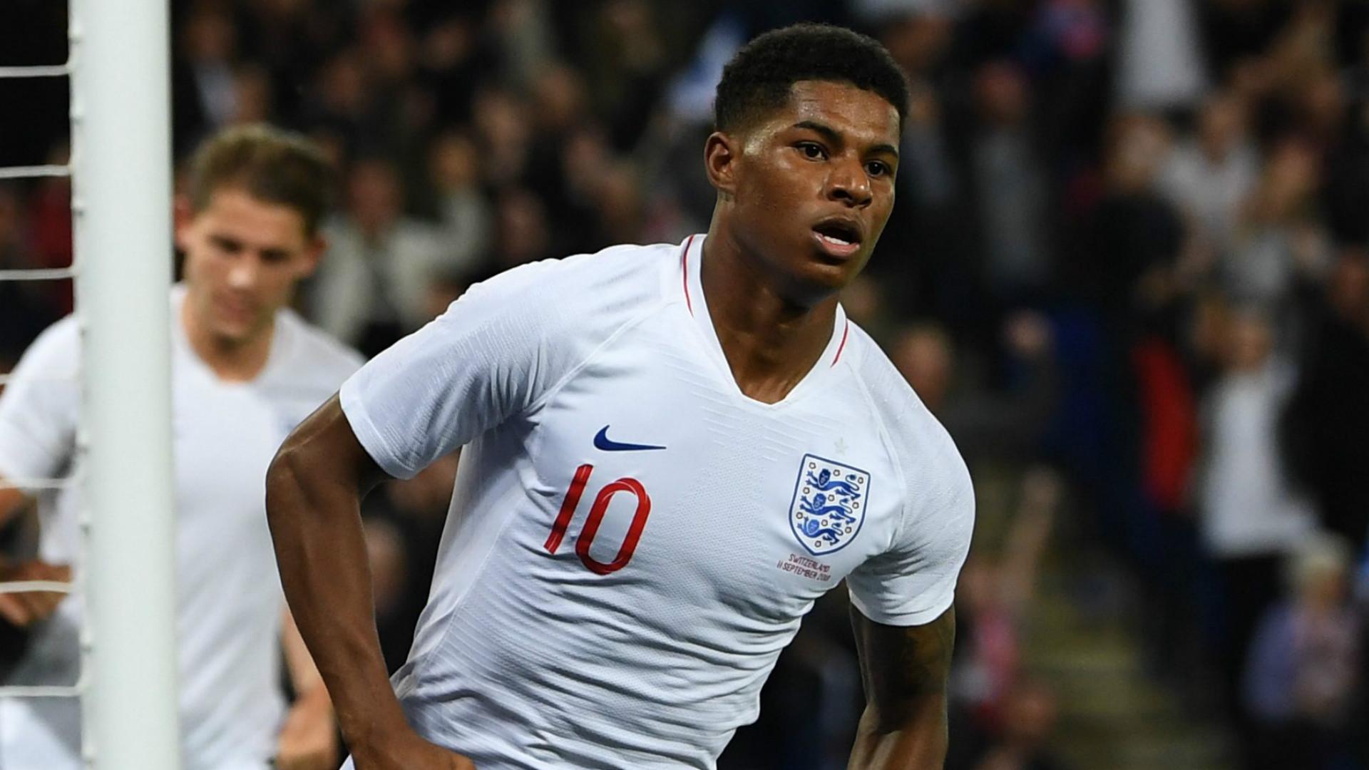 Marcus Rashford England 2018-19