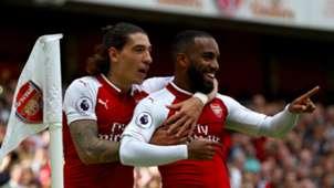 Hector Bellerin Alexandre Lacazette Arsenal 09092017