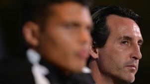 PSG Thiago Silva Unai Emery