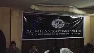 milan fans in cario