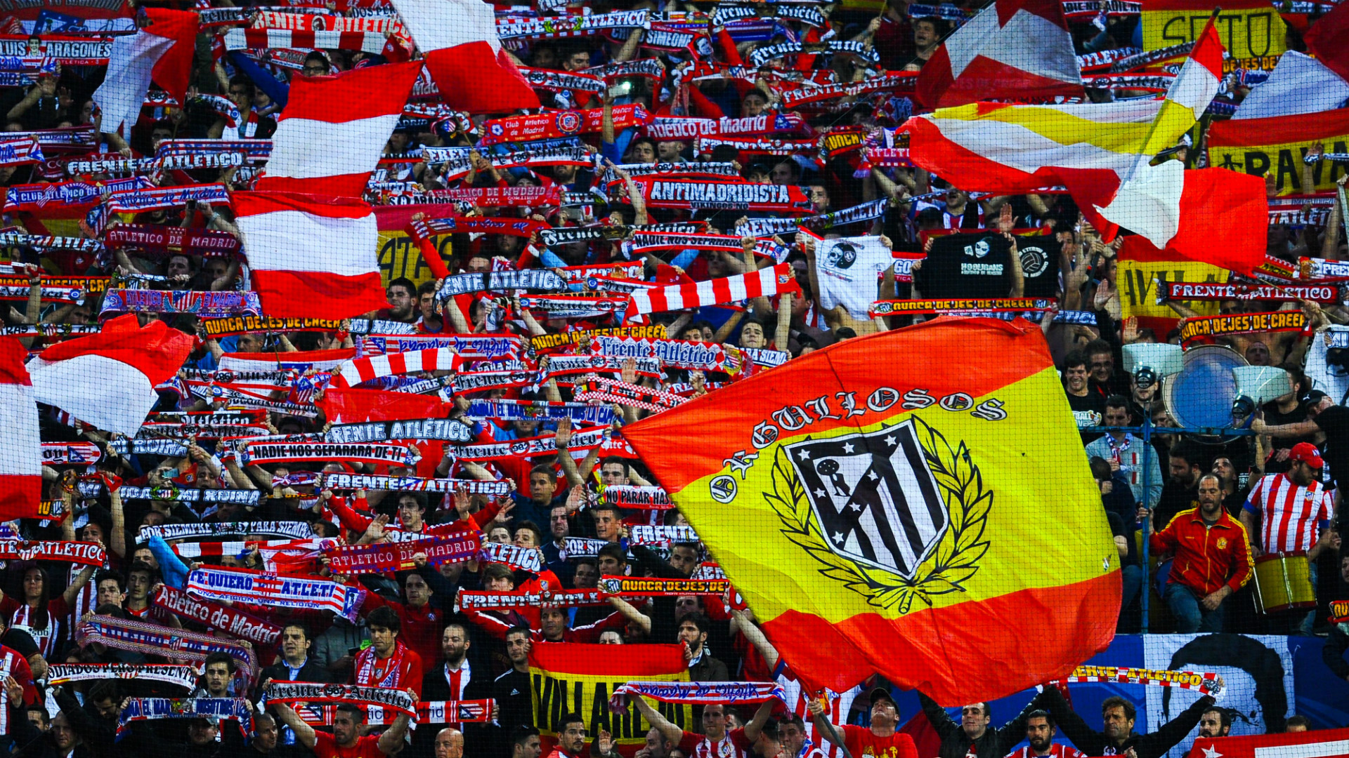 Atletico Madrid fans