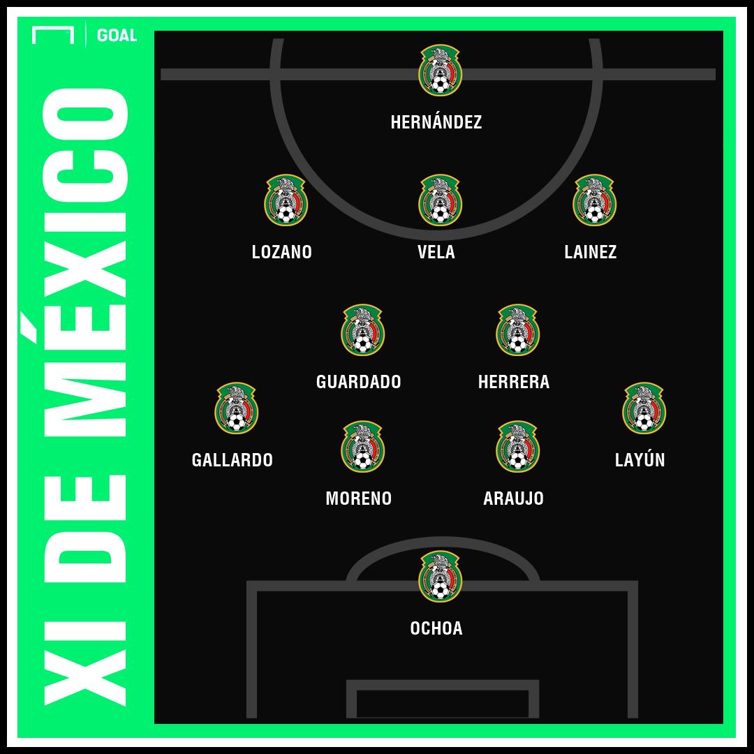 Mexico XI