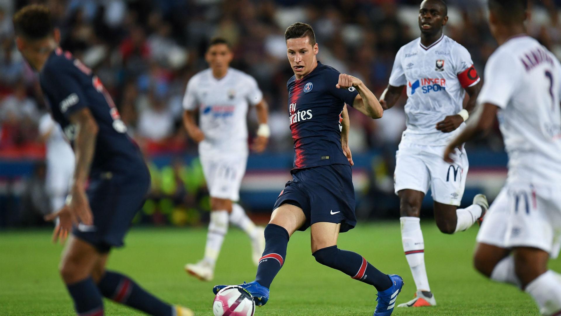 Julian Draxler PSG Caen Ligue 1 12082018