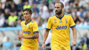 Paulo Dybala Gonzalo Higuain Sassuolo Juventus Serie A