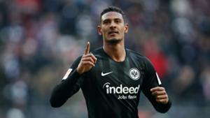 Sebastian Haller Frankfurt Bundesliga