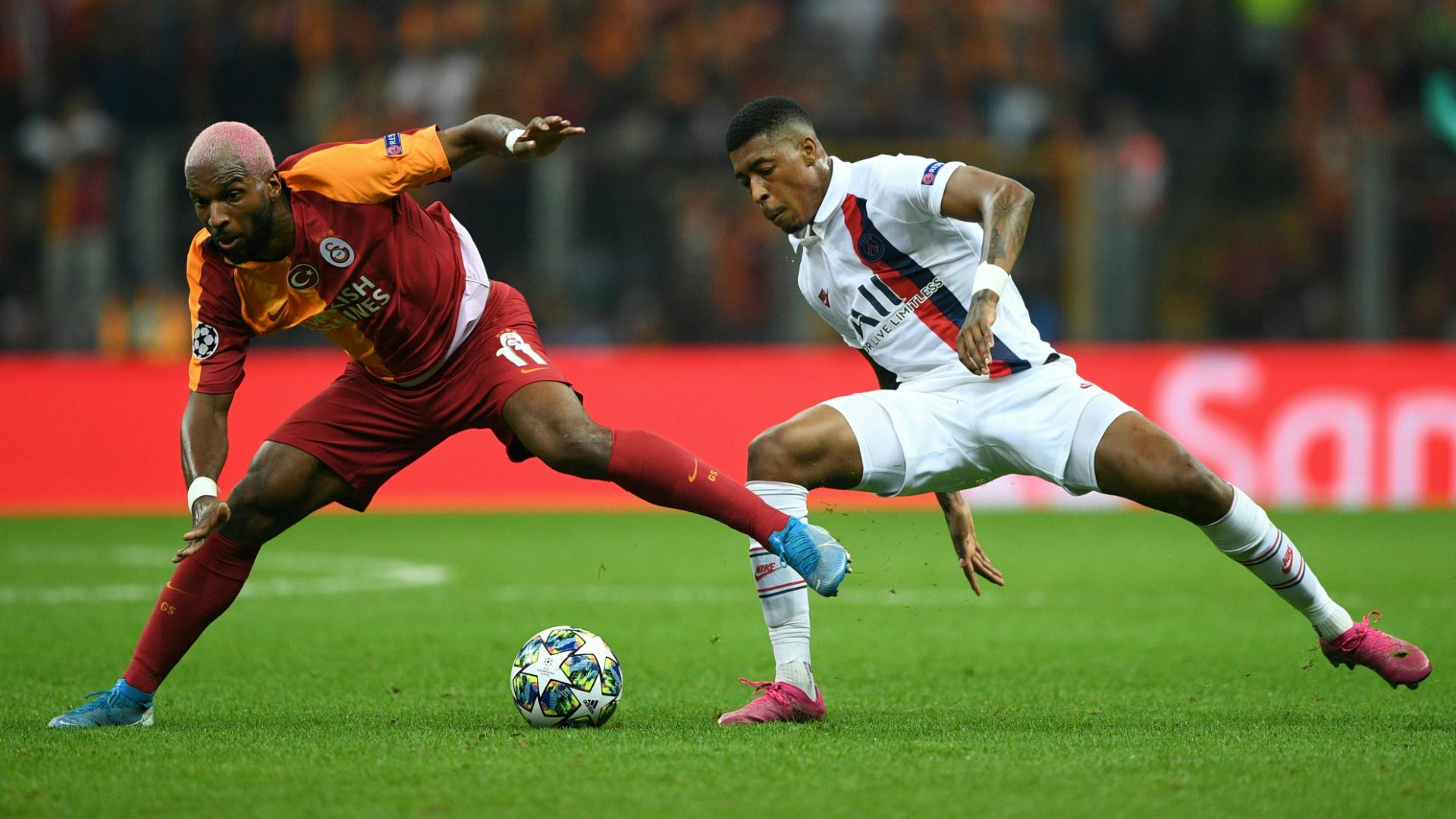 Ryan Babel Presnel Kimpembe Galatasaray PSG UCL 10012019
