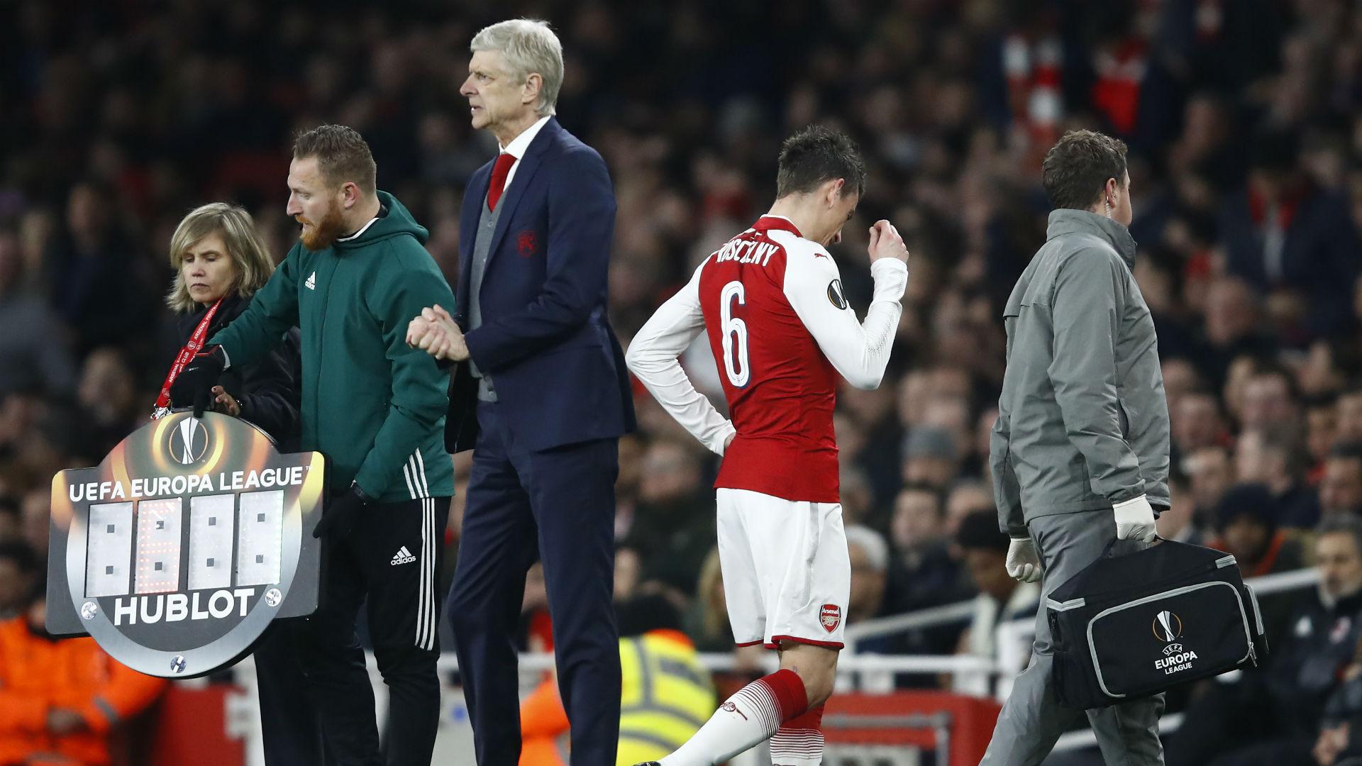 Arsenal s'en sort, Koscielny blessé sans gravité assure Wenger — Ligue Europa