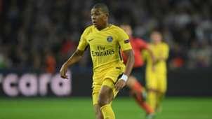 Kylian Mbappé Anderlecht PSG UEFA Champions League 10182017