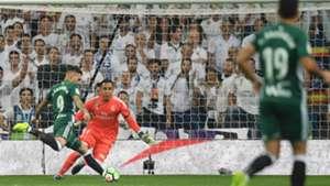 Sanabria Keylor Navas Real Madrid Betis