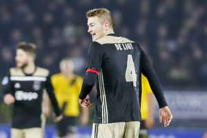 Matthijs de Ligt Ajax 24-11-18