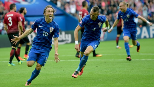 Luka Modric goal celebrate turkey croatia 06122016
